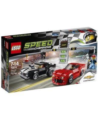 Lego Chevrolet Camaro Drag Race, Multi Color