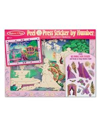 Melissa & Doug Peel & Press - Fairytale Princess