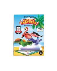 Smartivity EDGE Fantastic Feathers Augmented Reality Colouring Sheets