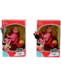 Simba Evi Love Minnie Mouse Tricycle 12cm, Multi Color (2 Assortment)