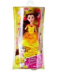 Disney Princess Basic Hair Play - Belle, Yellow