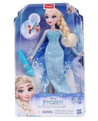 Funskool Disney Frozen Elsa s Magical Story Cape, Assorted Colours