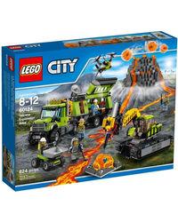Lego Volcano Exploration Base, Multi Color