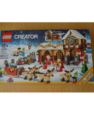 Lego Santa s Workshop, Multi Color