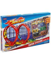 Sinotrade Max Speed Super Cyclone Track Set, Multi Color