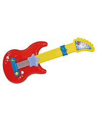 Simba ABC Baby Guitar with Light and Sound, Multi Color