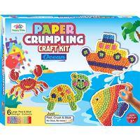 Paper Crumpling- Ocean