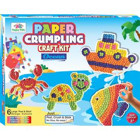 Art & Craft Toys Paper Crumpling Craft kit - Ocean