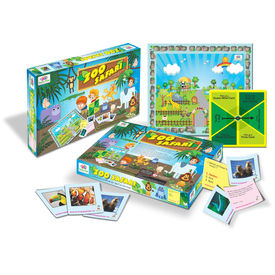 Board Games Zoo Safari Kids Board Games Educational Fun Board Games