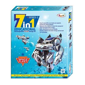 Annie 7 in 1 Space Fleet Educational Rechareable Solar Kit
