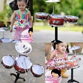 Kid's 6 Piece Mini Jazz Drum Set