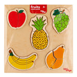 Eduedge FruIt's Combo Puzzle• Printed on high quality plywood. • Coated with safe paints for children. • Smooth edges and corners. Non-toxic eco friendly product and a fun way to learn.