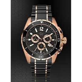 GUESS COLLECTION GC ROSE GOLD BLACK 6675