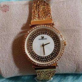 Best Valentine Gift Bridal wear Diamond studded Swarovski Women Lady wear watch