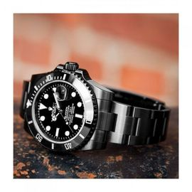 ROLEX SUBMARINER FULL BLACK 45