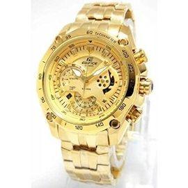 100% Authentic Casio Edifice EF550D Full Gold Watch