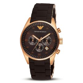 EMPORIO ARMANI AR5891 TAZIO MEN'S FASHION MODERN CHRONOGRAPH WRIST WATCH NEW