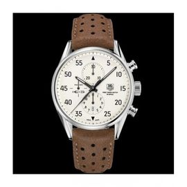 TAG HEUER ROSEGOLD DIAL WHITE