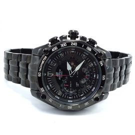 100% Authentic Imported CASIO EDIFICE Chronograph 100M EF550D-1AV Black