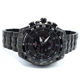 100% Authentic Imported CASIO EDIFICE Chronograph 100M EF550D-1AV Black